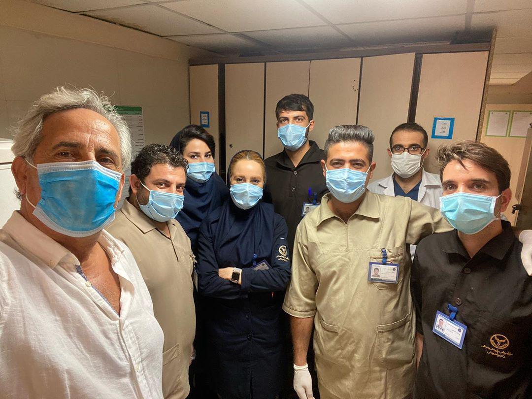 مجید مظفری در اورژانس بیمارستان+عکس