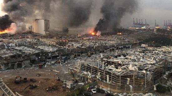 تصاویر هولناک از شدت خرابیها در بیروت+عکس