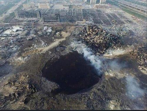 تصویر هوایی از لحظه انفجار بیروت +عکس