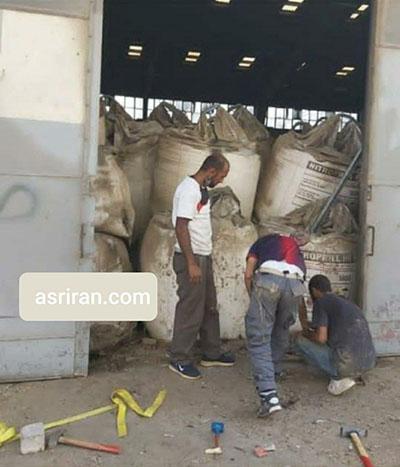 علت انفجار مواد شیمیایی در بیروت+عکس