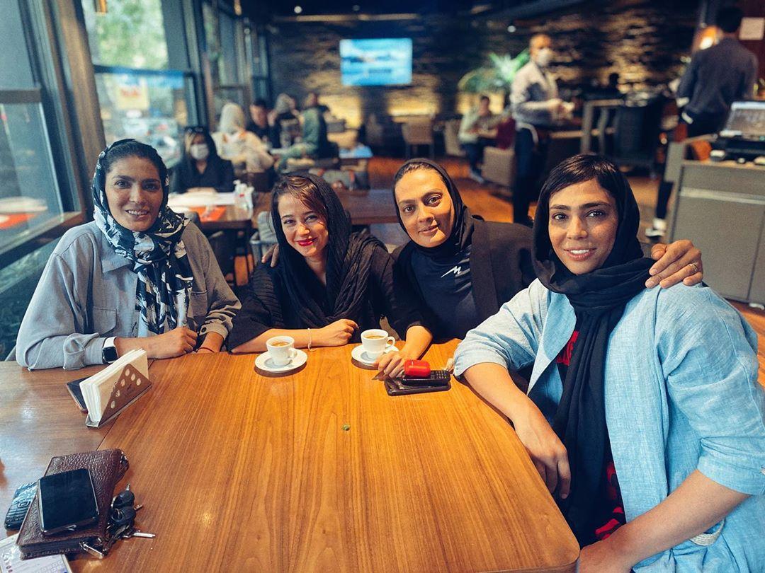 سه رفیق خفن الناز حبیبی+عکس