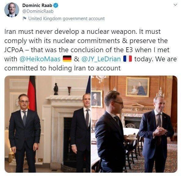توهین وزیرخارجه انگلیس به ایرانیها+عکس