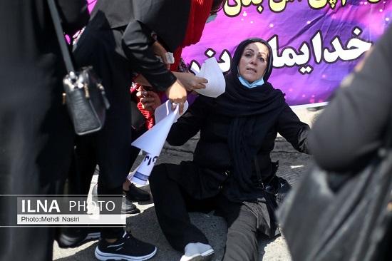 تصویر دردناک از تجمع اعتراضی در تهران+عکس