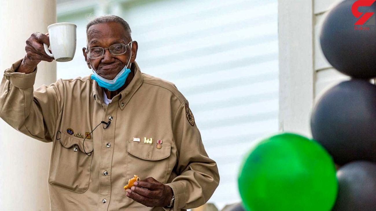 جشن تولد پیرترین سرباز آمریکایی+عکس