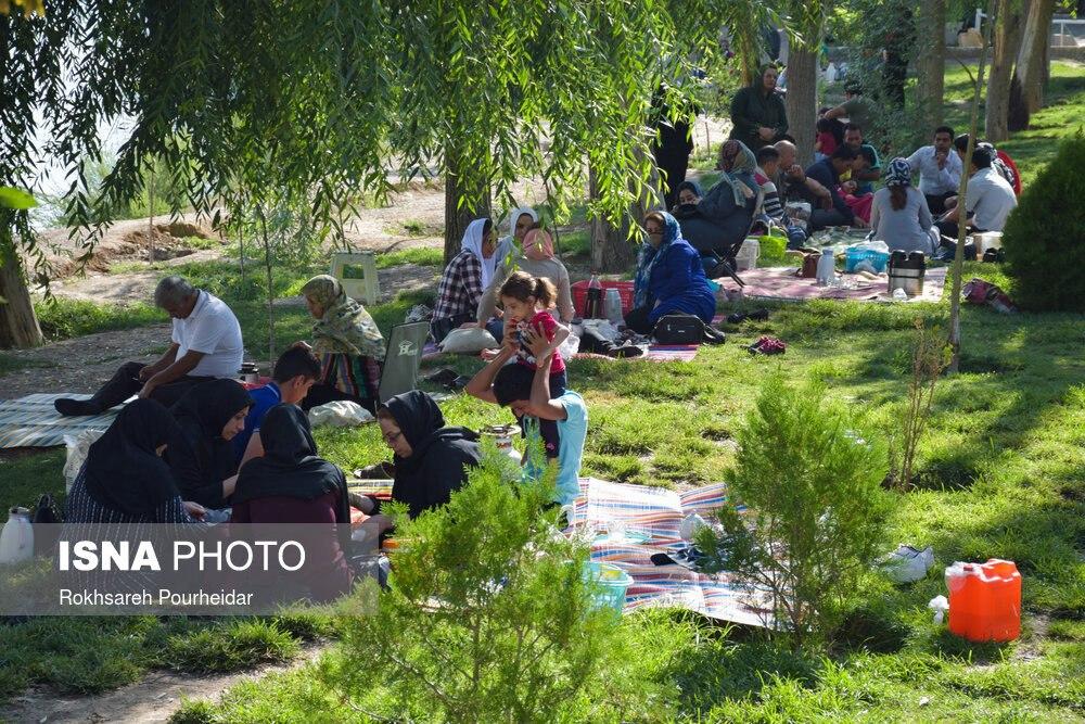 وضعیت نگران کننده در پارک جنگلی این شهر+عکس