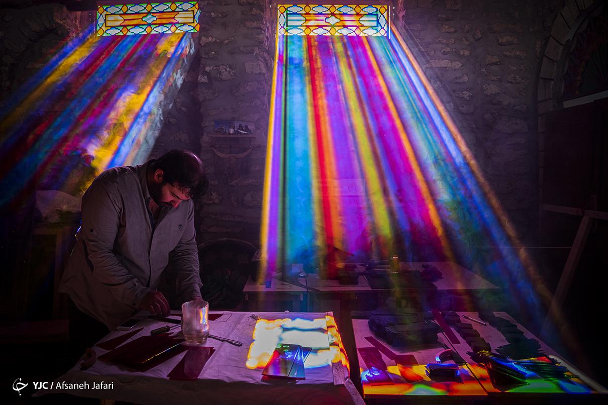 زیباترین کارگاه در بوشهر+عکس