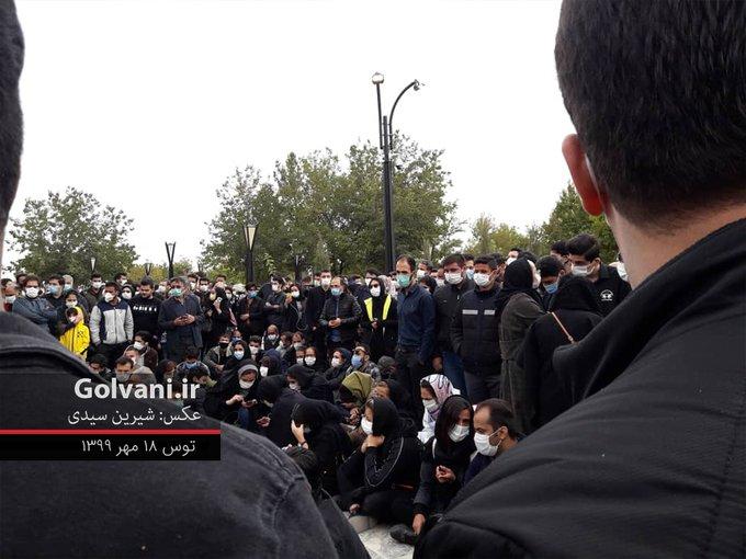 جمعیت باور نکردنی در محل تدفین استاد شجریان+عکس