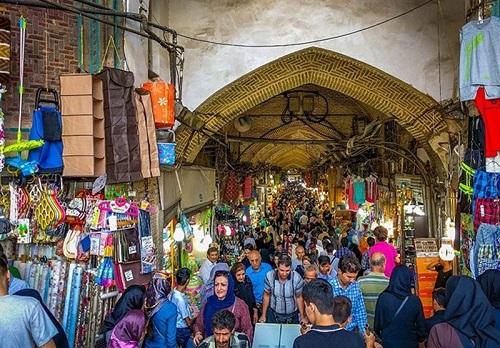 هجوم عراقی ها به بازار ایران