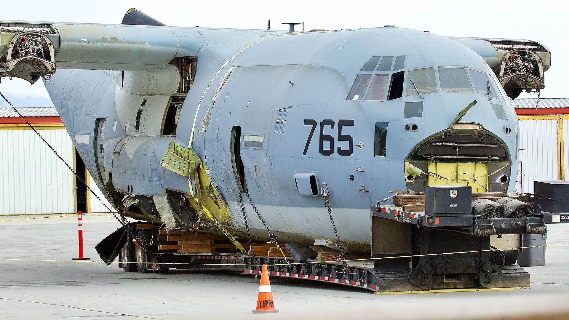 وضع هواپیمای متلاشی شده آمریکا+عکس