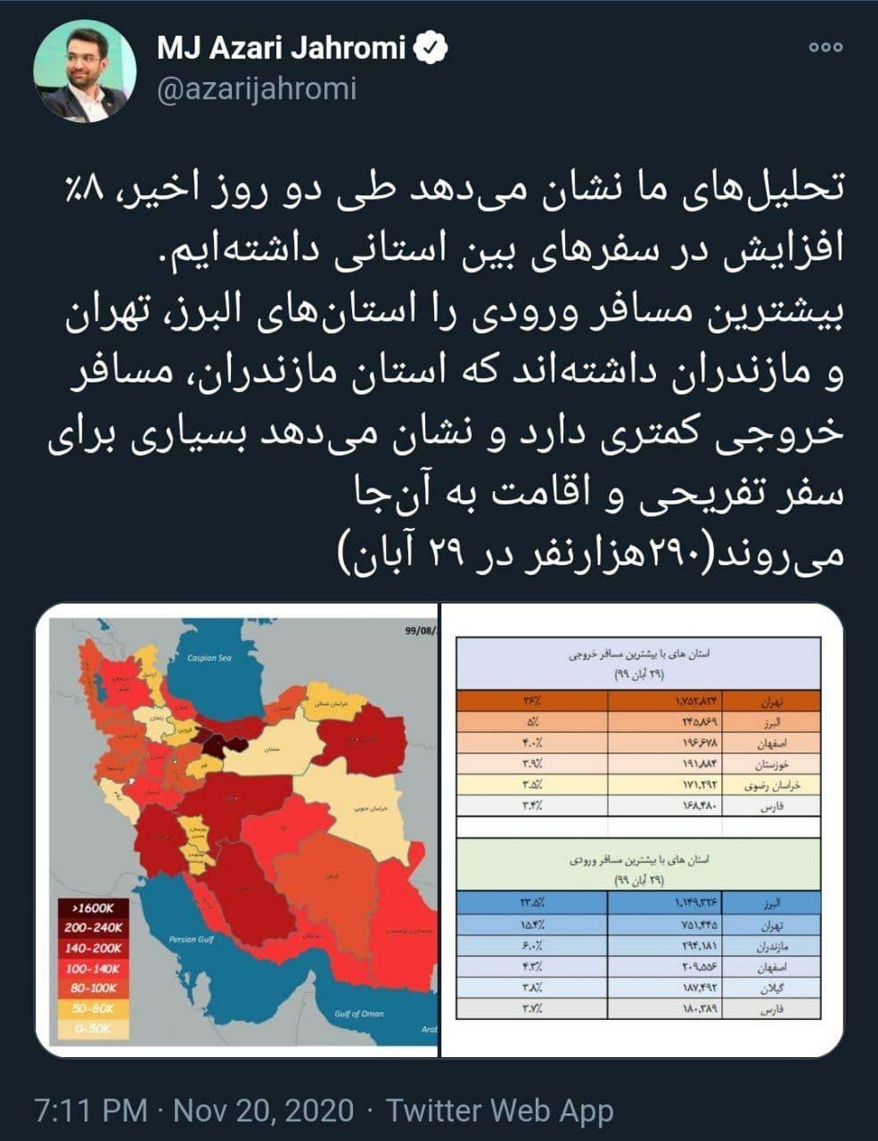 افزایش سفرهای استانی در دو روز گذشته+عکس