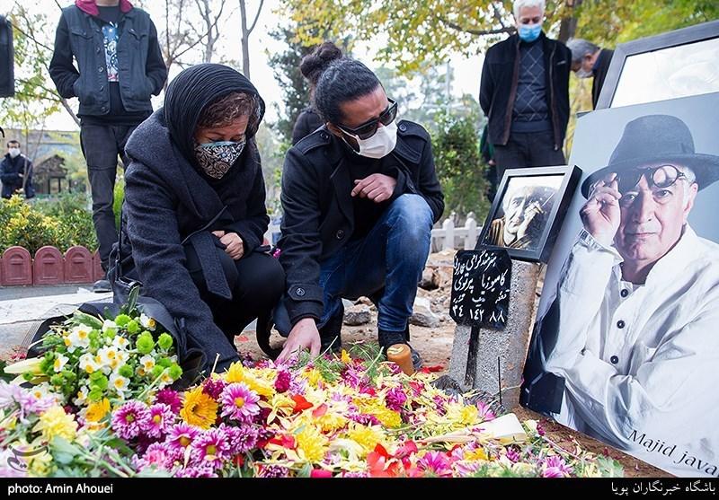 همسر اول کارگردان معروف در مراسم خاکسپاری+عکس
