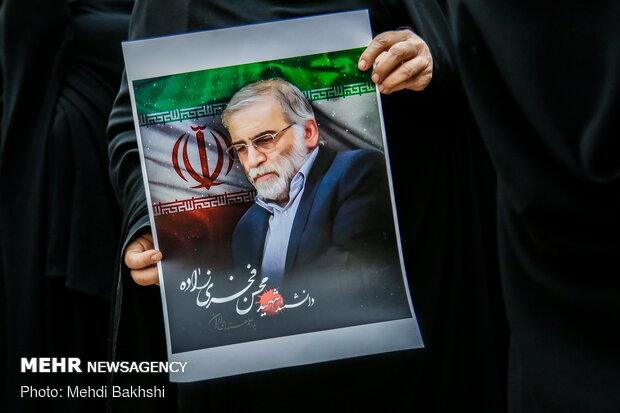 حرکت زشت اینستاگرام درباره شهید هسته ای ایران+عکس