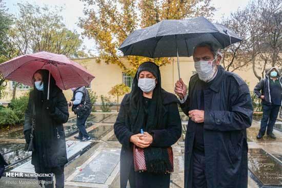 خاکسپاری غریبانه بازیگر معروف ایرانی+عکس