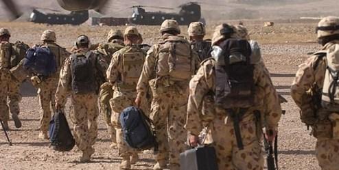 خوشگذرانی زشت سربازان استرالیایی+عکس