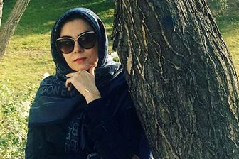 اعتراض تند مجری ممنوع التصویر زن به تلویزیون+عکس
