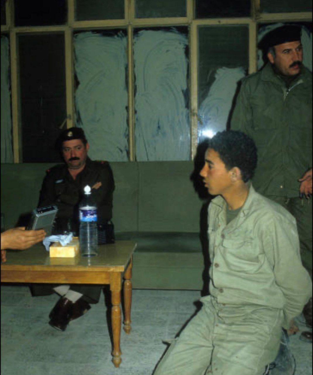 نوجوان ایرانی در اسارت عراق +عکس
