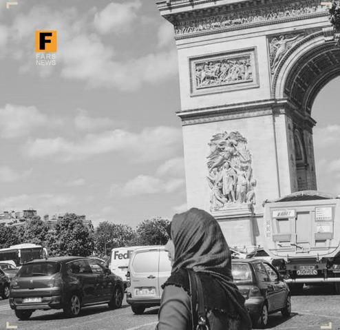 عصبانیت فرانسه از زنان محجبه+عکس
