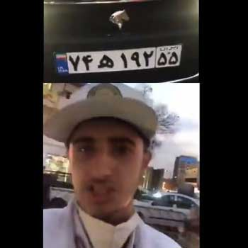 سیلی خوردن سرباز راهور تائید شد+عکس