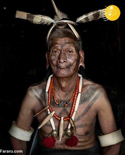 قبیله ای که انسان ها را سر میبرند+عکس