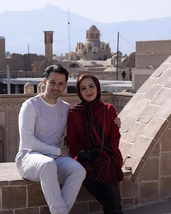 ازدواج مجری جنجالی تلویزیون+عکس