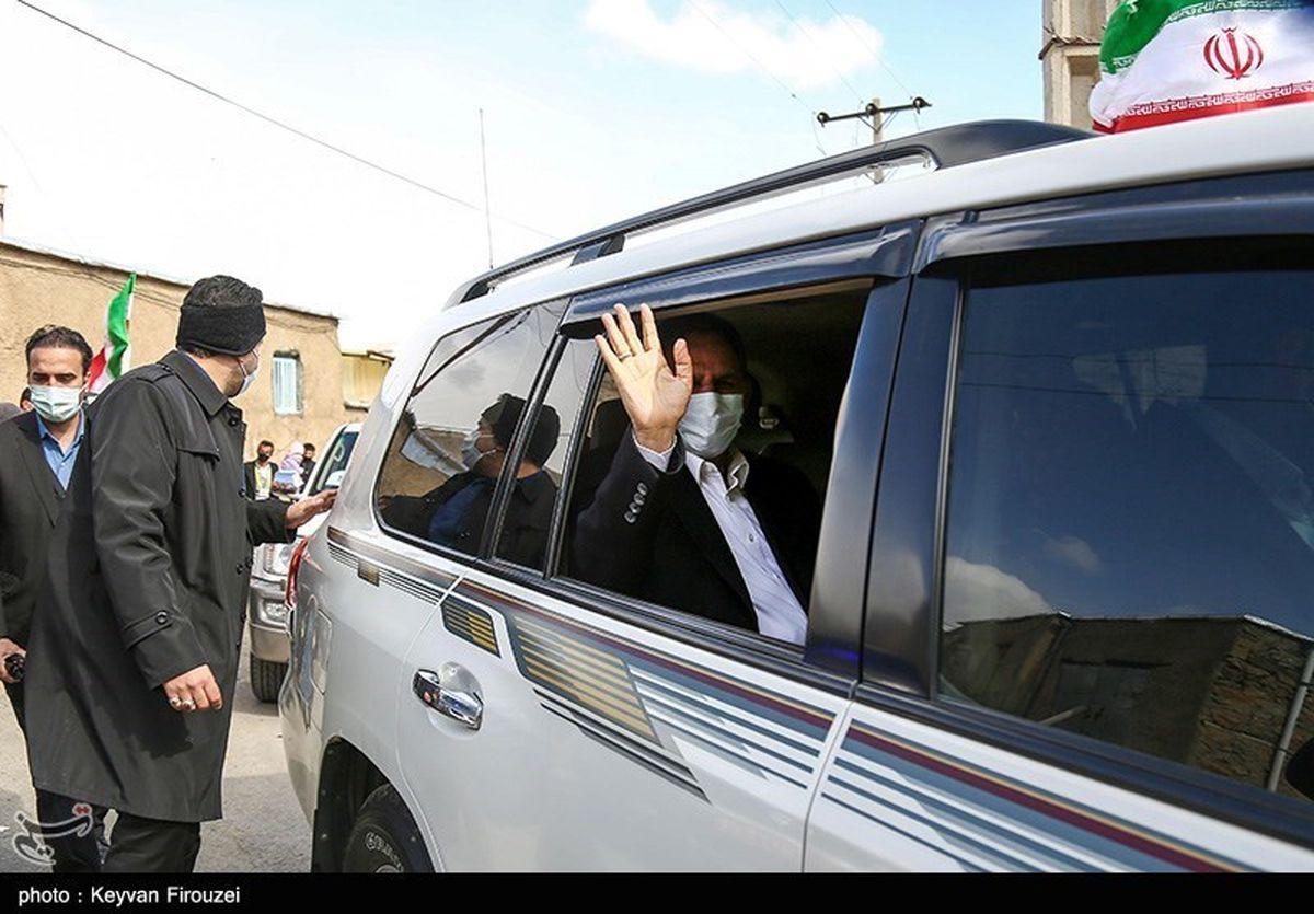 خودروی جهانگیری در سفر کردستان+عکس