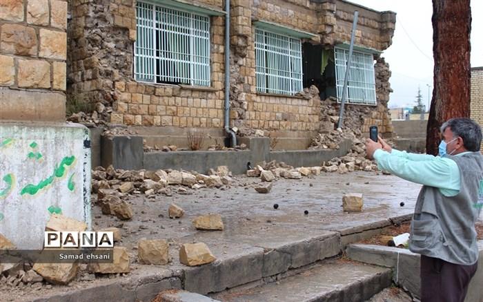آغاز بازسازی مدارس آسیبدیده زلزله سیسخت با مشارکت خیرین