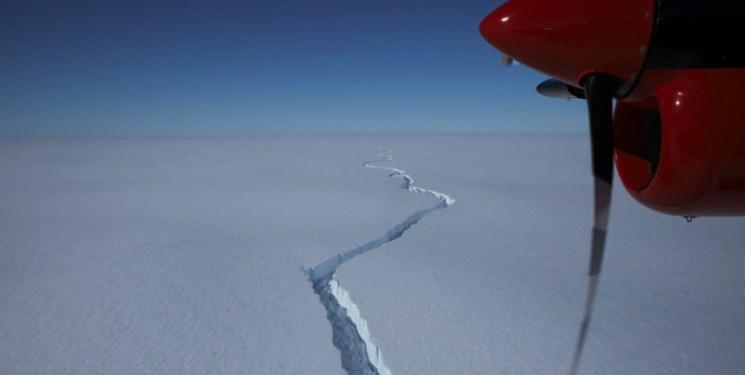 یک کوه یخی به اندازه لندن، از قطب جنوب جدا شد