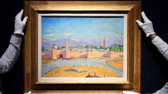 فروش نقاشی چرچیل در حراج+عکس