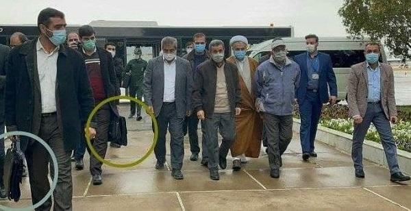 بادیگاردهای عجیب احمدی نژاد در سفر سی سخت+عکس