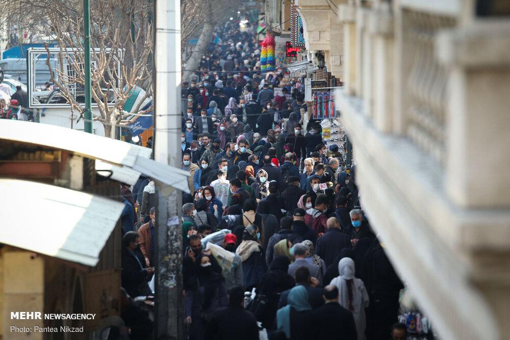 تصویر شوکه کننده از بازار تهران+عکس