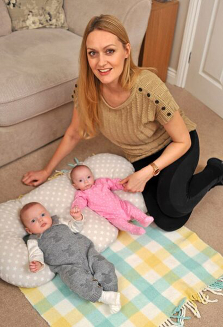 زنی که در سه هفته دوبار حامله شد+عکس
