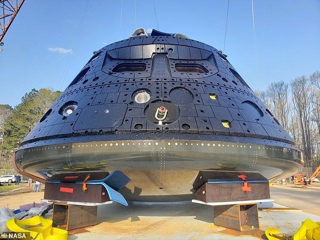آزمایش موفقیتآمیز، کپسول  اوریون  ناسا را یک قدم به ماه نزدیکتر کرد
