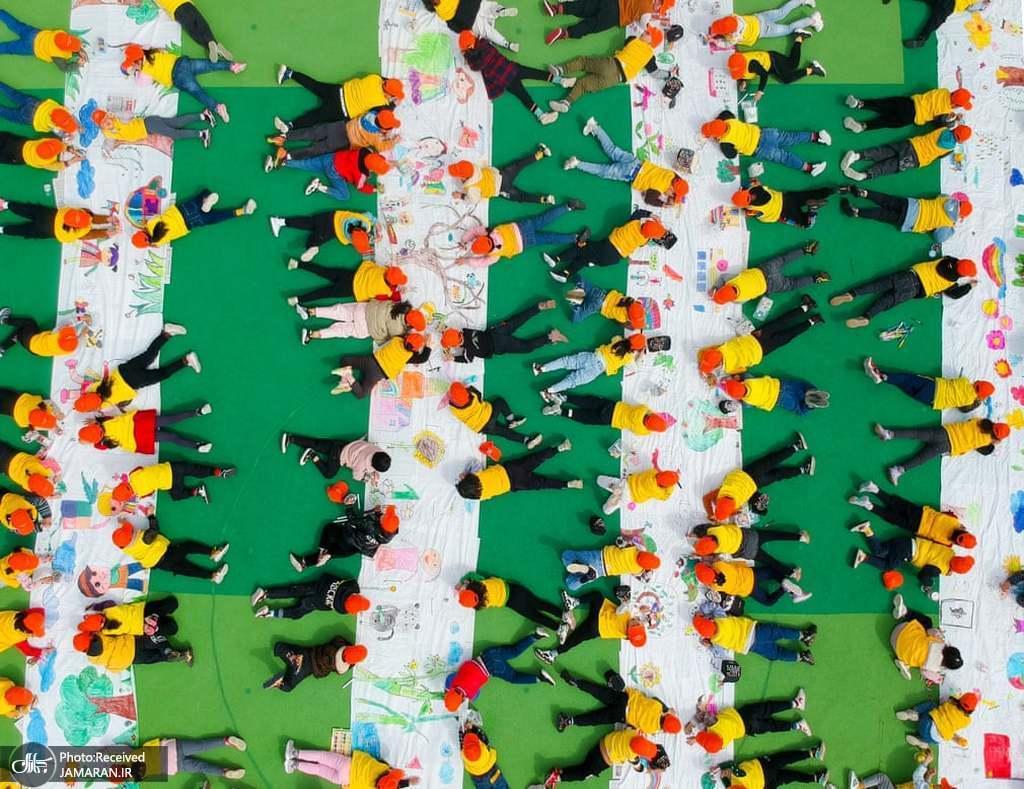 مهدکودک های چین این شکلی است+عکس