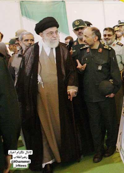 تصویر دیده نشده از سردار حجازی و رهبر انقلاب+عکس