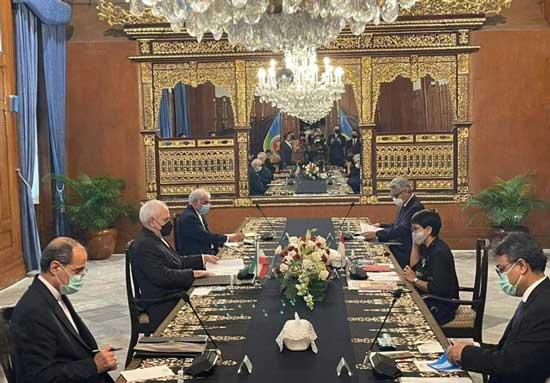 مذاکرات جدید ظریف در کاخ+عکس