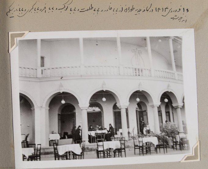 دختران قاجاری در کافه بلدیه تهران سال ۱۳۱۴+عکس