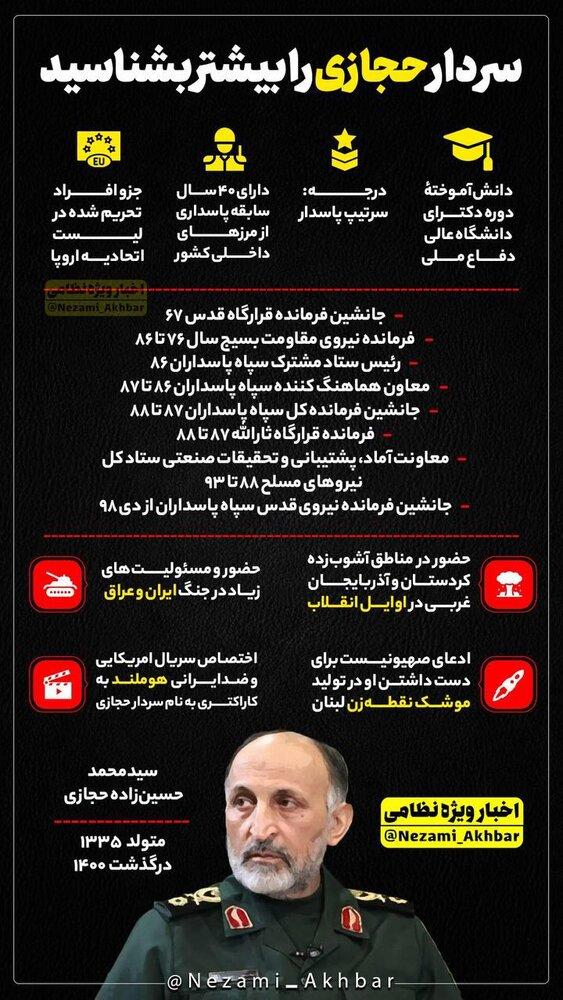 سردار حجازی را بیشتر بشناسید+عکس