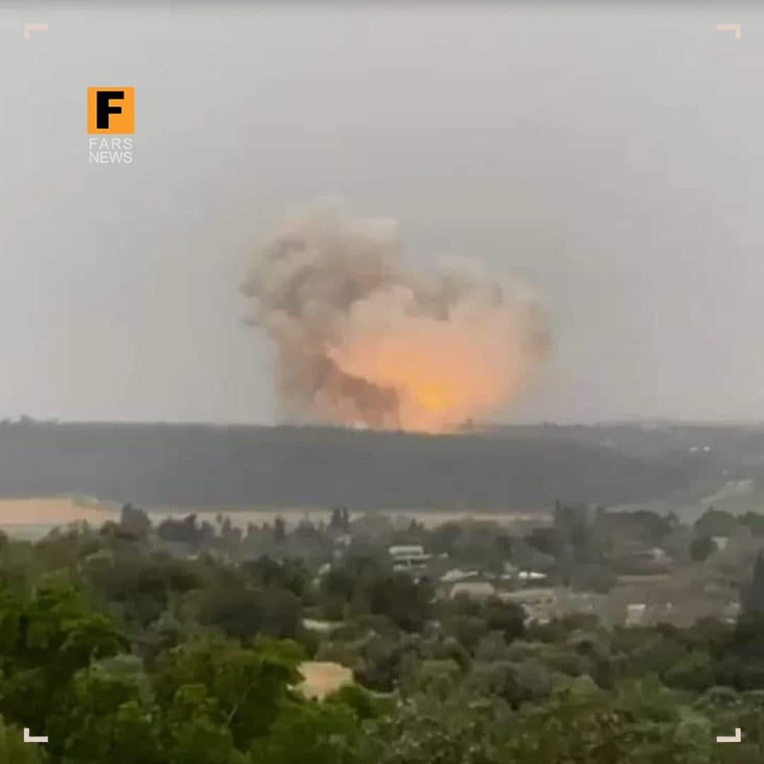 انفجار مهیب در کارخانه  تسلیحات اسرائیل+عکس