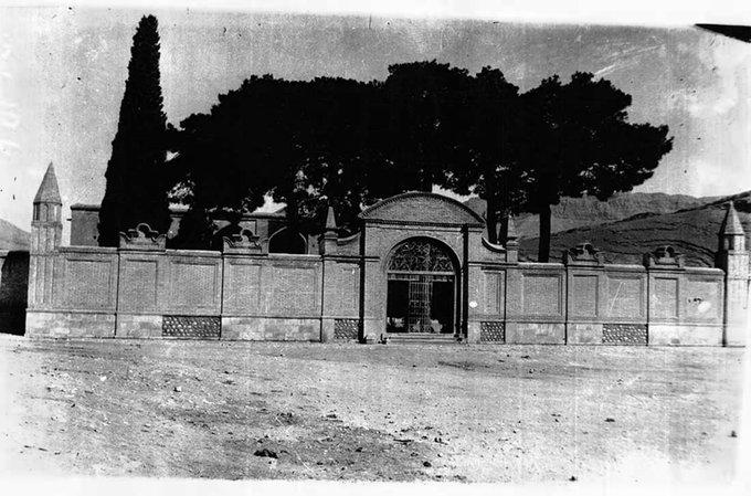آرامگاه سعدی در دوره قاجار+عکس