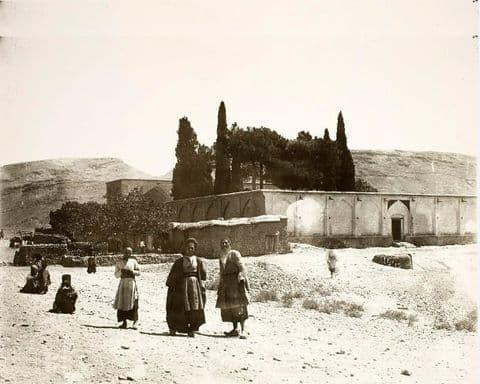 آرامگاه سعدی ۱۲۵ سال پیش+عکس