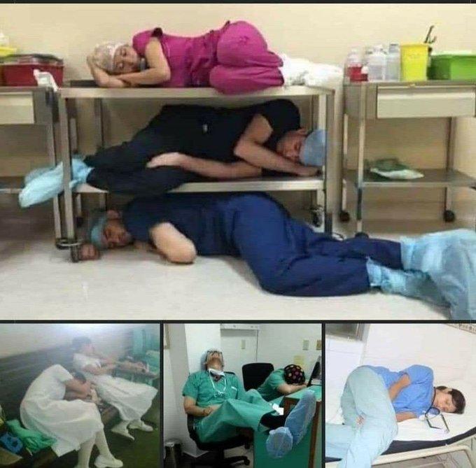 تصویر شوکه کننده از پرستاران هندی+عکس