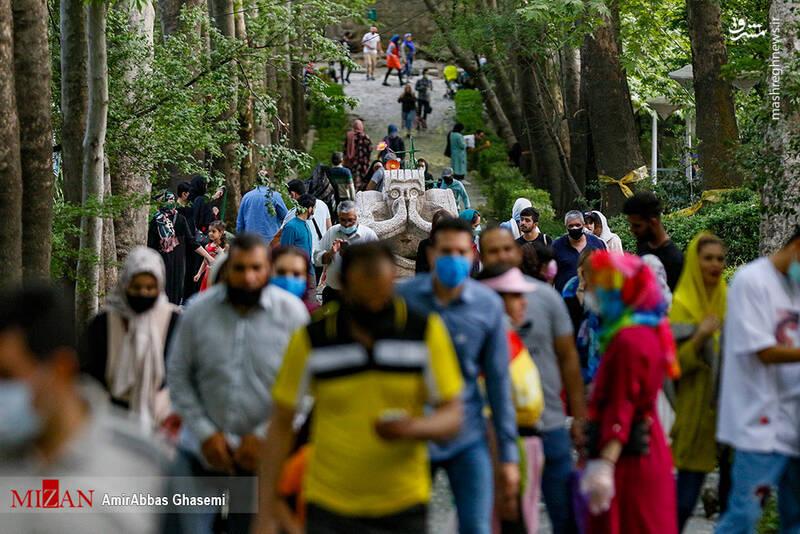تصویر شوکه کننده از پارک جمشیدیه تهران+عکس