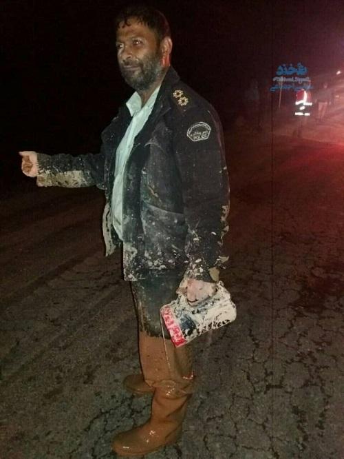 تصویر تکان دهنده از پلیس جاجرمی همه را متعجب کرد+عکس