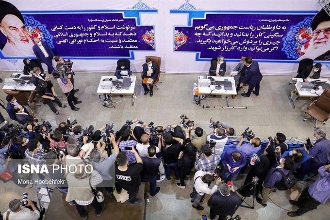 تصویر عجیب از ستاد انتخابات کشور+عکس