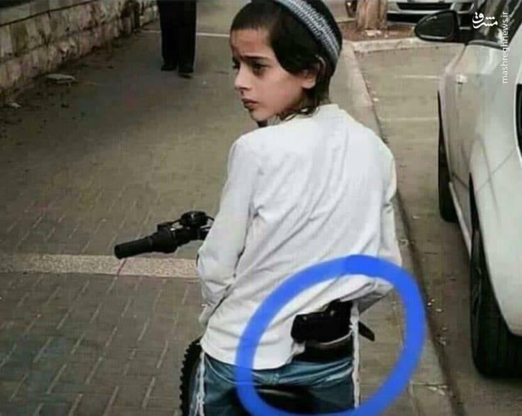تصویر جنجالی از کودک اسرائیلی+عکس