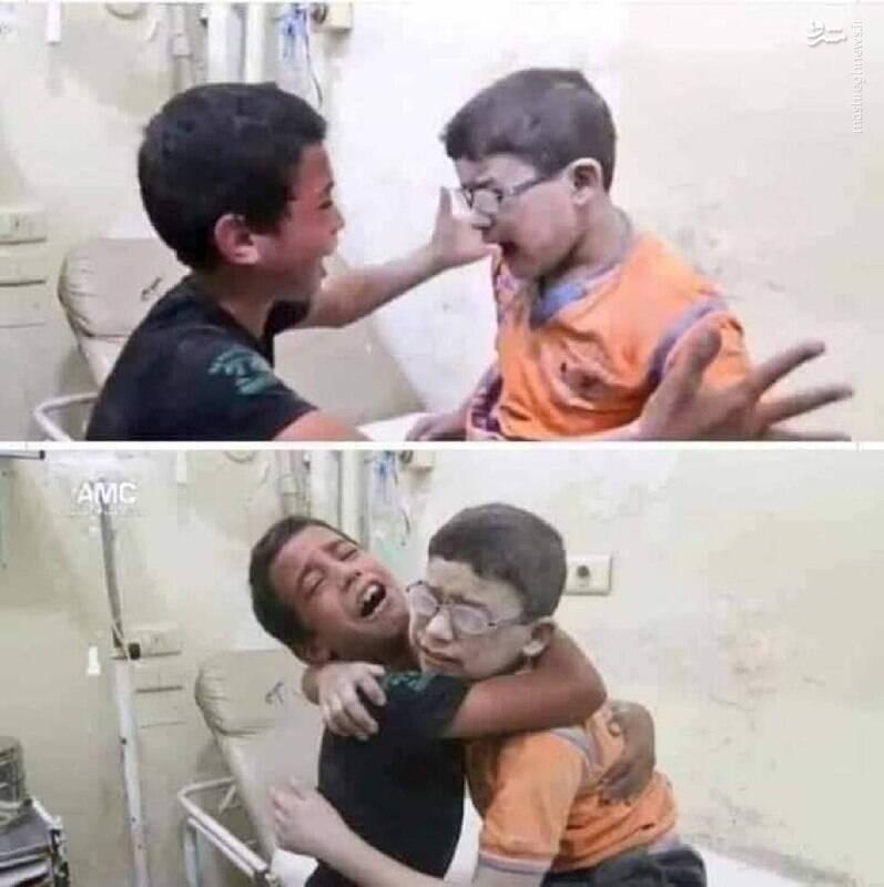این دو برادر اشک همه را در آوردند+عکس
