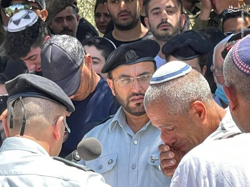اشک های نظامیان اسرائیل+عکس