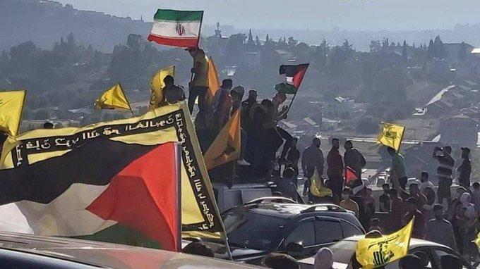 جمعیت باورنکردنی در مرز لبنان و فلسطین+عکس