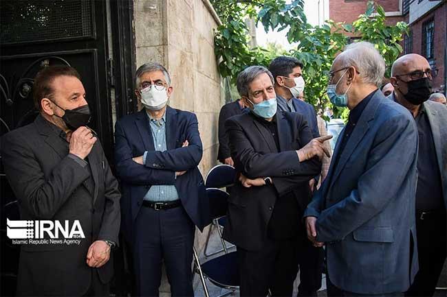 چهره های سیاسی در مراسم تشییع اکبر ترکان+عکس