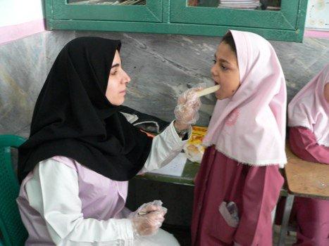 غربالگری  مشکلات قامتی دانش آموزان  در برنامه سنجش سلامت